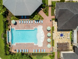 Apartments in Katy, TX - Aerial View of Pool